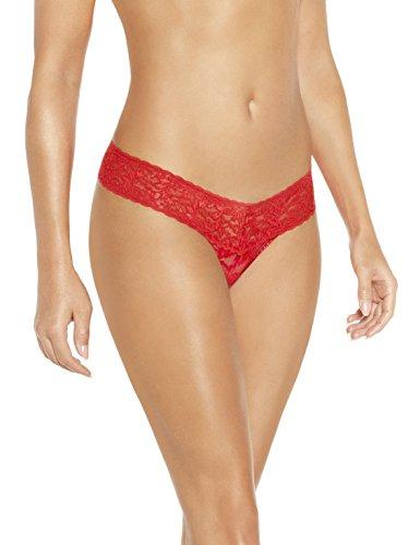 Sylvie Flirty Lingerie Damen String Aki Rot, One Size (Und Roten Bh Tanga)