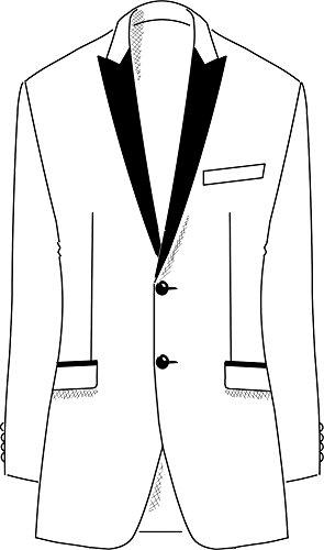 Wilvorst - Smoking - Homme noir Schwarz Schwarz