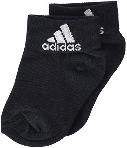 adidas Socken Knöchelsocken 3er-Pack, Schwarz/Weiß, 39-42, 017081531 (Adidas-socken Für Männer)