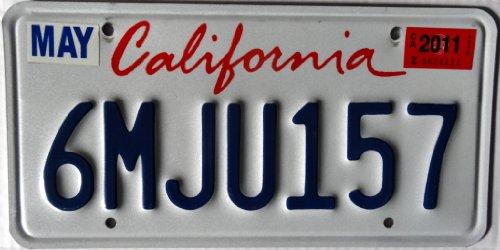USA Nummernschild CALIFORNIA ~ US Kennzeichen Kalifornien ~ Blechschild
