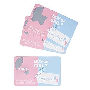 Neviti 773857Tiny pies niña Género revela cero tarjetas