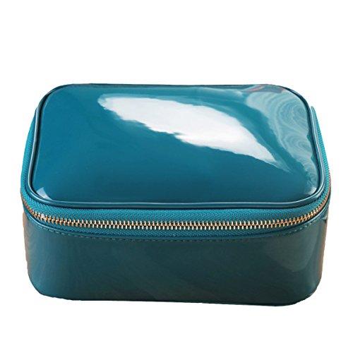 Reise Multifunktion Waschbeutel Großraum Wasserdicht Kosmetiktasche Blue