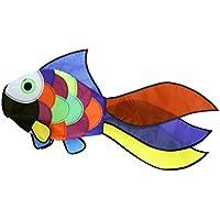 Emmakites Juego de viento.Windsock-Cometa pez de colores viento Spinner. Decoración de Jardín.resistente a la intemperie y rayos.Tamaño 81,3 x 40,6 x 10,2 cm.