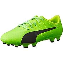 Amazon.es  Botas Futbol Puma - Verde 9ac72ae408e3d
