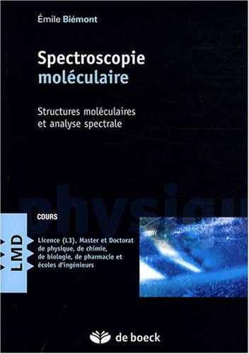 Spectroscopie moléculaire : Structures moléculaires et analyse spectrale