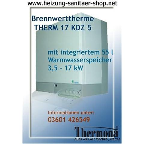 Caldaia a gas a condensazione caldaia a gas caldaia Combi 17 KDZ 5 per gas naturale E