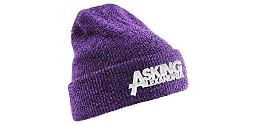 Beanie Hat Purple