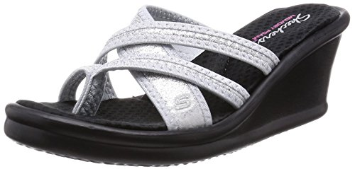 skechers-cali-womens-rumblers-happy-dayz-wedge-sandal-silver-sparkle-8-m-us