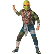 Disfraz de Michelangelo musculoso Tortugas Ninja Movie para niño - 8-10 años