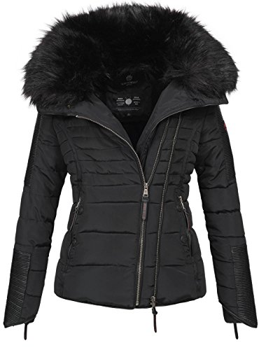 Navahoo Damen Winter Stepp Jacke Parka Winterjacke Steppjacke warm...