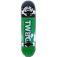 """Element Skateboards Twig Logo completa Pro Skate black 7.625"""""""