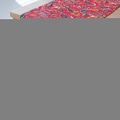 Algodón Oeste Americano mesa de comedor pabellón paños sobre la bandera La bandera hotel cama cama Toalla final conceptos modernos de bandera roja 30*180, , el cuadro rojo convolvulus con