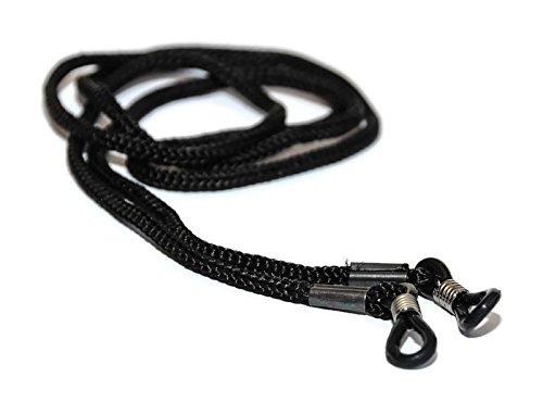 4 X Schwarz Schnur für Brille Kette Schnüre