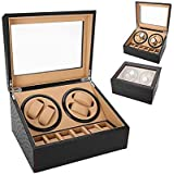 Watch Winder 4+6 Camel Cassa Movimento Orologi