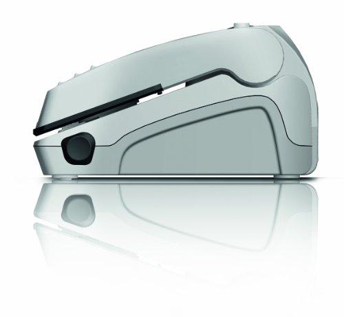 CASO VC100 Vakuumierer - Vakuumiergerät, Lebensmittel bleiben bis zu 8x länger frisch - natürliche Aufbewahrung ohne Konservierungsstoffe, doppelte 30cm lange Schweißnaht, Vakuumregulierung, inkl. 10 gratis Profi-Folienbeutel - 7