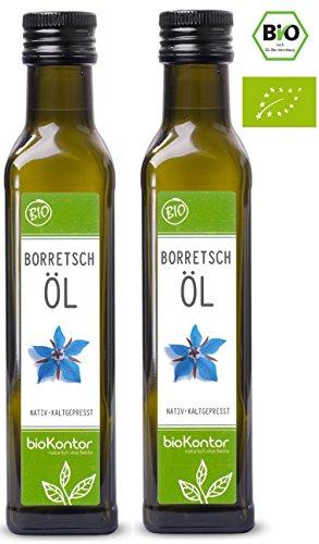 bioKontor // BIO Borretschöl - nativ + kaltgepresst (500ml)