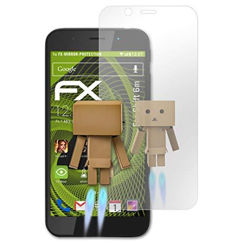 atFolix Bildschirmfolie kompatibel mit Shift 6m Spiegelfolie, Spiegeleffekt FX Schutzfolie