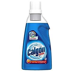 Calgon Gel 3en1 Anticalcaire et Nettoyant pour le Lave-Linge 750mL -Lot de 2
