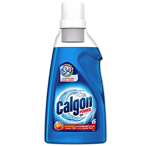 Calgon 2in1 Gel, Wasserenthärter gegen Kalk & Schmutz in der Waschmaschine, 1er Pack (1 x 750 ml)