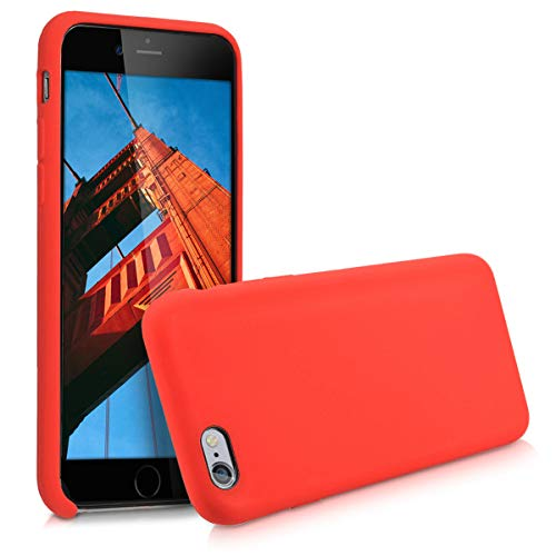 kwmobile Apple iPhone 6 / 6S Hülle - Handyhülle für Apple iPhone 6 / 6S - Handy Case in Rot