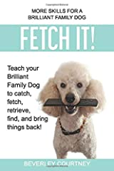 Fetch It!: Teach your Brilliant Family Dog to catch, fetch, retrieve, find, and bring things back! (More Skills for a Brilliant Family Dog) Paperback