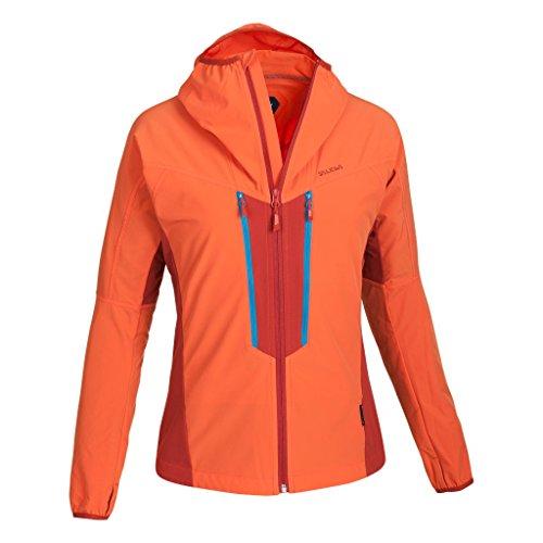 Salewa Damen Jacke Deva DST W Jacket, Tigerlily/1730/8240, 40/L, 00-0000024900 (Orange Travel Jacke)