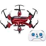 ICOCO JJRC H20 2.4G 4 canales Gyro Nano Hexacopter RTF juguete caliente Quadcopter 6-Axis (Rojo)