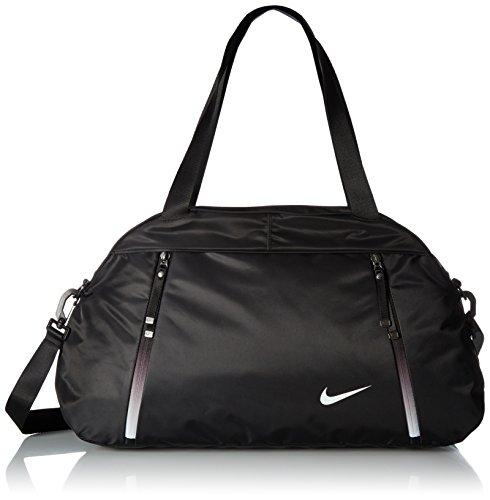 Nike Auralux Club Solid Damen Sporttasche, Schwarz, 18 x 65 x 32 cm