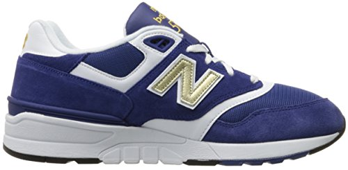 New Balance Herren Ml597 Sneakers Blau (navy)
