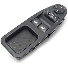 TOOGOO 6554.Zj Interruptor de Ventana con Fuente de Alimentación para Fiat Scudo Citroen Jumpy