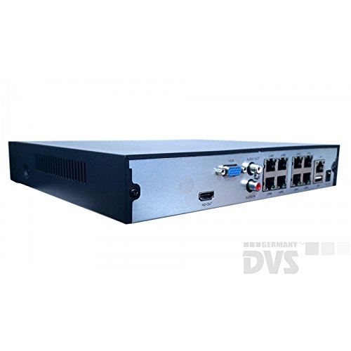 Dvs-Alemania–Calidad-4-K-de-cine-Video-Vigilancia-2-x-4-K-cmaras-IP-con-4-K-VHS–dvlc-de-liz800s1–8000-GB-Disco-Duro