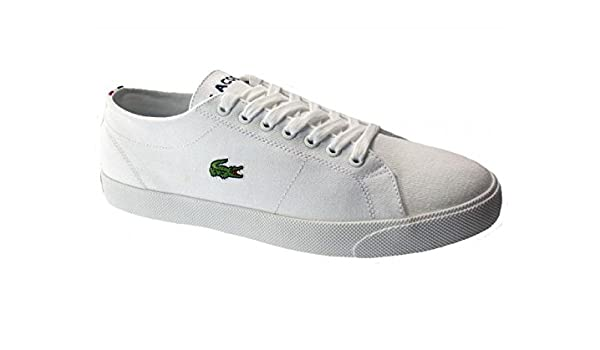 25a3096b704caa Lacoste Marcel FRS SPM White-White Mens Footwear Trainers  Amazon.co.uk   Shoes   Bags
