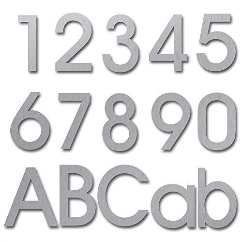Hausnummern Hausnummern Edelstahl