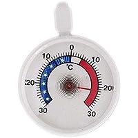 TFA Dostmann Analoges Kühlthermometer, klein, handlich, zur Kontrolle von Kühl- und Gefrierschrank