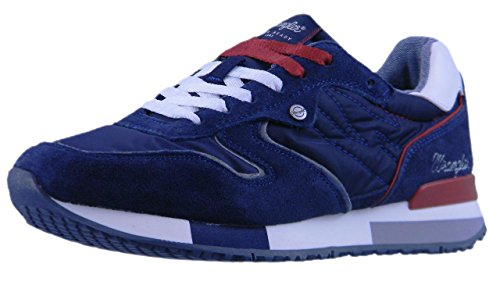 Wrangler Shoes MOD.Forest Sneaker Uomo,Blu (Navy) Blue Navy
