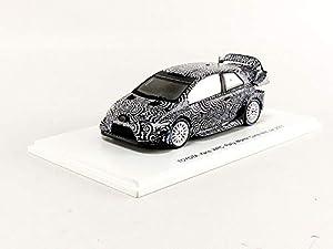 SPARK-Coche en Miniatura de colección, s5168, Color Blanco/Negro
