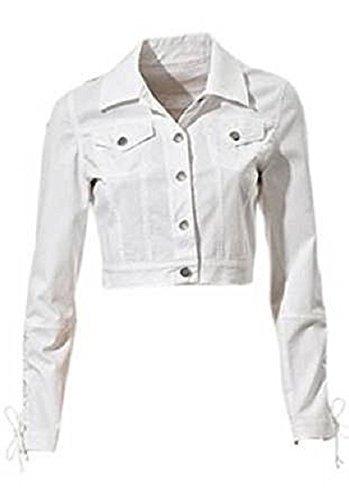 Kurze Jacke von Heine in Weiß Weiß