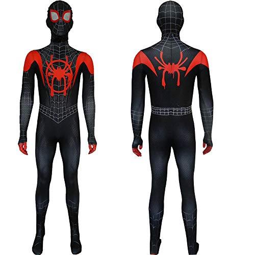 Adult Kids Spider-Man Little Black Spider Tights Myers Costume Cosplay Parallel Universe New Era Costume Halloween Tuta 3D