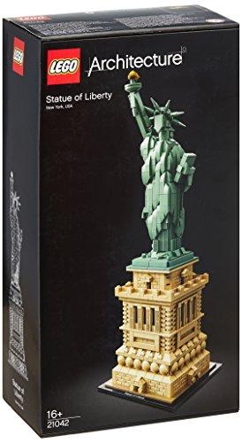 Lego Architecture - Estatua de la Libertad, Multicolor (21042)