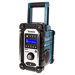 Makita DMR104 DAB Job Site Radio, No Batteries Included