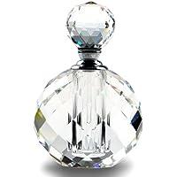 Crystal Art Deco Vintage Style Perfume Spray Bottles EMPTY Glass Refillable 10ml