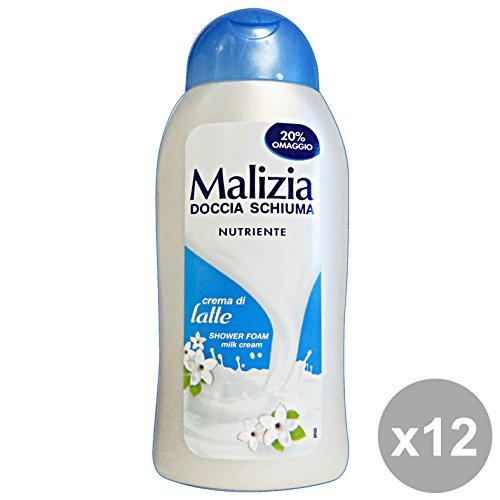 Malicieuse Set 12 douche crème de lait 300 ml. Les savons et cosmétiques
