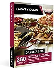 DAKOTABOX - Caja Regalo - TAPAS Y CATAS - 380 Bodegas con D.O. o variados restaurantes de tapas
