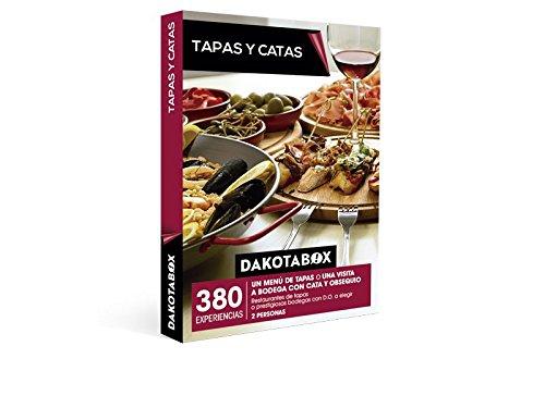 DAKOTABOX – Caja Regalo – TAPAS Y CATAS – 380 Bodegas con D.O. o variados restaurantes de tapas