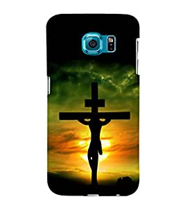 printtech Holy Cross Jesus Back Case Cover for Samsung Galaxy S6::Samsung Galaxy S6 G920