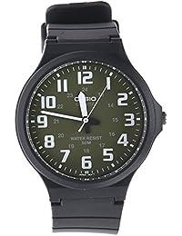 ebbe3130fc8a CASIO MW-240-3BVEF - Reloj de Cuarzo con Correa de Resina para Hombre