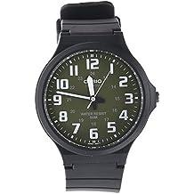 58b2e77e2716 CASIO MW-240-3BVEF - Reloj de Cuarzo con Correa de Resina para Hombre