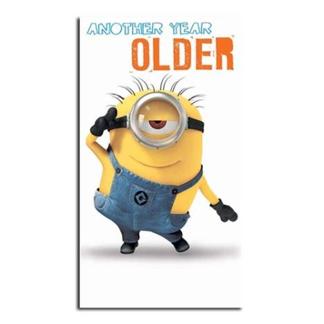Despicable Me Minion Another Year Older Geburtstag Karte (Party Despicable 2 Supplies Me)