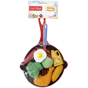 Cosy Village Cooking Play Food Set [ Assorted colors]