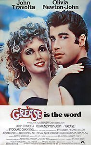 paramount-prints-affiche-poster-film-grease-avec-john-travolta-et-olivia-newton-john-a4